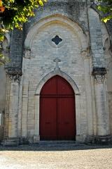 Eglise Saint-Pierre de Marestay - Deutsch: St.-Pierre-de-Marestay, Westwand der Vierung