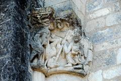 Eglise Saint-Pierre de Marestay - Deutsch: St.-Pierre-de-Marestay, Vierungskapitell