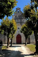 Eglise Saint-Pierre de Marestay - Deutsch: St.-Pierre-de-Marestay, Ansicht von Westen