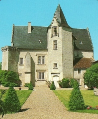 Château - Français:   Chateau de Meux