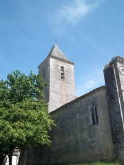 Eglise Saint-Martin du Petit-Niort -  Clocher de Petit-Niort