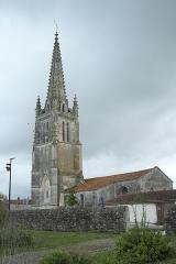Eglise Saint-Pierre - Deutsch: Katholische Kirche Saint-Pierre in Moëze im Département Charente-Maritime (Nouvelle-Aquitaine/Frankreich)