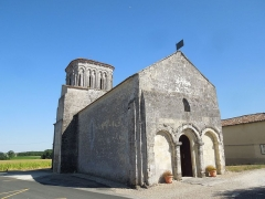 Eglise Saint-Martin - English: Moings: church Saint-Martin, view from northwest