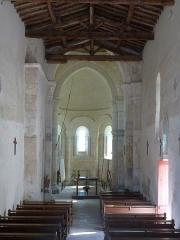 Eglise Saint-Martin - Français:   Eglise de Moings, Charente-Maritime, France