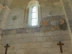Eglise Saint-Martin - English: Moings: frescos in the village church