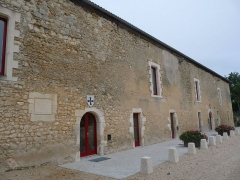 Château - English:   stables of the castle of Montguyon, Charente-Maritime, SW France