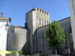 Eglise Saint-Pierre - Eglise romane de Mornac sur Seudre
