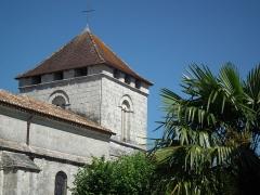 Eglise Saint-Saturnin - Français:   Clocher de Mosanc-sur-Seugne