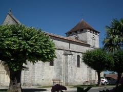 Eglise Saint-Saturnin -  L'église de Mosnac-sur-Seugne