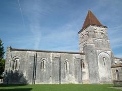 Eglise Saint-Pierre - Français:   L\'église romane de Neuillac