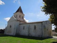 Eglise Saint-Pierre - Deutsch: Die Pfarrkiche Saint-Pierre in Neuillac, gesehen von Nordwesten