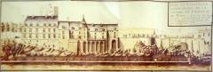Chapelle Saint-Gilles - Français:   Visible au Musée archéologique de Pons. Plan du XVIII.