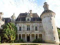 Château des Egreteaux, dit château d'Usson - English: Château d'Usson, southwing, courtyard facade