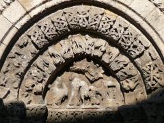 Eglise Saint-Pierre - English: Detail of the romanesque church Saint-Pierre. Pont-l'Abbé-d'Arnoult. Charente-Maritime (17), Poitou-Charentes, France, Europe.