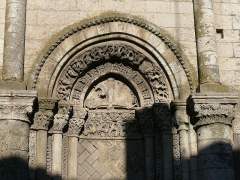 Eglise Saint-Pierre - English: Detail of the romanesque church Saint-Pierre. Charente-Maritime (17), Poitou-Charentes, France, Europe.
