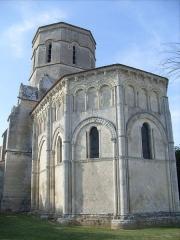Eglise Saint-Trojan - Français:   Abside, église de Rétaud