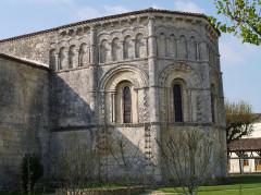 Eglise Notre-Dame de l'Assomption - English: Rioux (Charente-Maritime, France) - Notre-Dame church - the apse