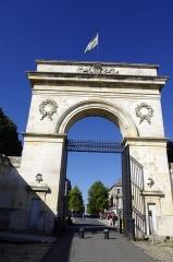 Arsenal - Français:   Rochefort - porte de l\'Arsenal.