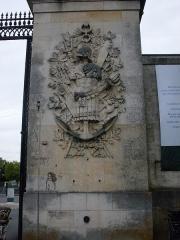 Arsenal - Français:   Porte de l\'arsenal, détail, Rochefort, Charente-Maritime
