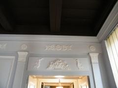 Ancien Hôtel de Cheusse, dit Hôtel de l'Intendance maritime - Français:   Détails de boiseries