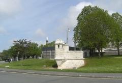 Remparts - English: Echauguette à Rochefort