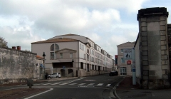Remparts - English: Porte Béligon - Zone 30 à Rochefort