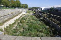 Formes de radoub de l'arsenal - Français:   Rochefort - radoub double