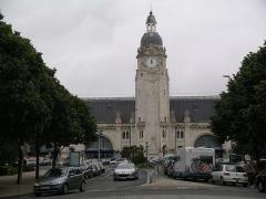 Gare - English: Railway station Gare de La Rochelle in France
