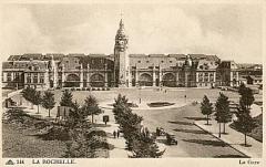 Gare -  Gare de La Rochelle, France.