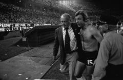Maison - English: River Plate manager Alfredo Di Stéfano in 1981.