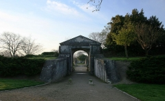 Porte Royale, avant-porte Royale et remparts avoisinants -  Enceinte pré de la Porte Royale à La Rochelle