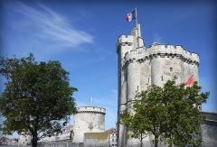 Tour Saint-Nicolas - Tour Saint-Nicolas à La Rochelle (Charente-Maritime, France).