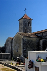 Eglise Saint-Brice - Deutsch: Saint-Bris-de-Bois,Ansicht von N-W