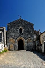 Eglise Saint-Brice - Deutsch: Saint-Bris-de-Bois,Fassade