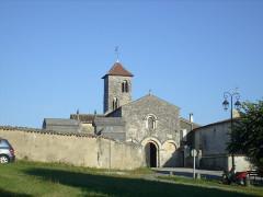 Eglise Saint-Brice -  L'église romane