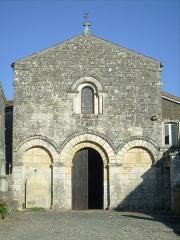 Eglise Saint-Brice -  La façade de l'église
