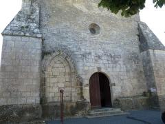 Eglise Saint-Cyr - Français:   Eglise de St-Ciers-Champagne, Charente-Maritime, France