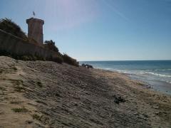 Vieux Phare des Baleines et phare des Baleineaux - English:   La Rochelle scene