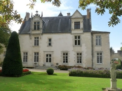 Château de Beaulon -  Château de Beaulon, St-Dizant-du-Gua, Charente-Maritime, France