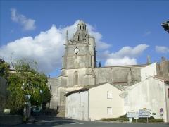 Eglise Saint-Fortunat -  Eglise de Saint-Fort sur Gironde