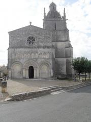 Eglise Saint-Fortunat -  Église de Saint-Fort sur Gironde