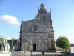 Eglise Saint-Fortunat -  Façade de l'église Saint-Fortunat