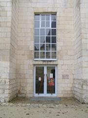 Ancienne abbaye Saint-Jean-Baptiste -  Bibliothèque dansAbbaye royale de Saint-Jean-d\'Angély