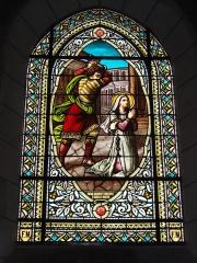 Ancienne abbaye Saint-Jean-Baptiste - English:   Église Saint-Jean-Baptiste de Saint-Jean-d\'Angély, vitrail 01