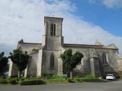 Eglise Sainte-Lheurine - English:   The village chuch of Sainte-Lheurine, seen from the North