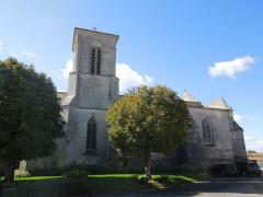 Eglise Sainte-Lheurine - Deutsch:   Die katholische Pfarrkirche von Sainte-Lheurine