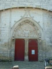Eglise Saint-Martin dite Le Grand Fort - Français:   Saint Martin de Ré (Ile de Ré, Charente-Maritime, France): église Saint Martin: Portail nord (XVème siècle).
