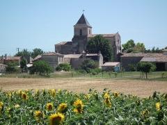 Eglise Saint-Palais -  Le village de Saint-Palais-de-Phiolin