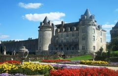 Château de la Rochecourbon -  Photographer: User:Ballista