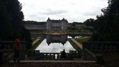 Château de la Rochecourbon - Français:   Le château de la roche Courbon.